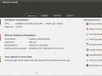 Neue Oberfläche für Ubuntu Tweak