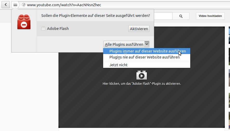 Click-to-Play in Firefox 18
