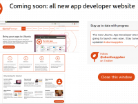 Kurz vor der Veröffentlichung: developer.ubuntu.com