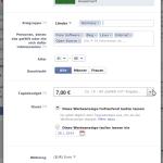Facebook-Beiträge bewerben