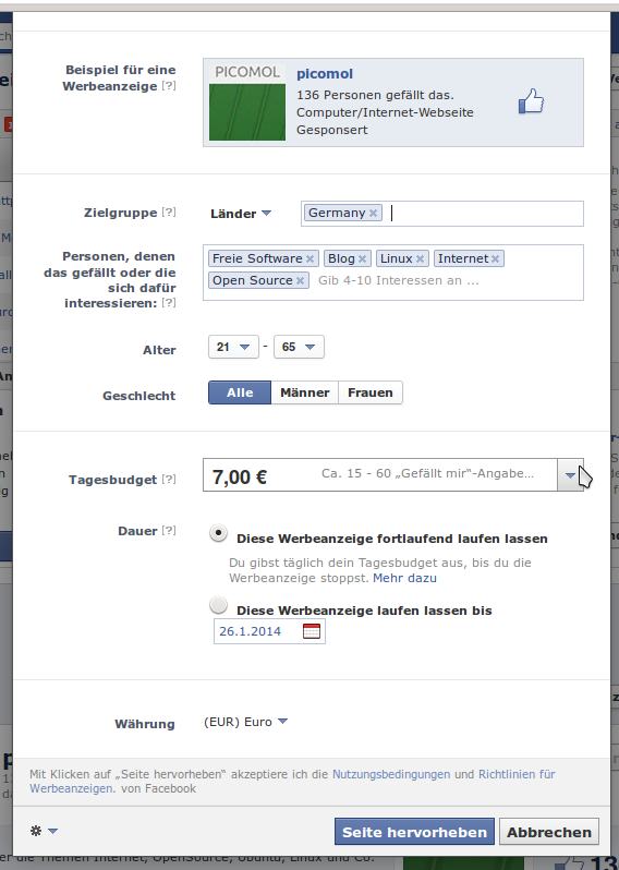 Facebook Beitrage Bewerben So Funktioniert Facebook Boost 11
