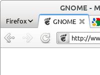 Firefox mit Adwaita Theme