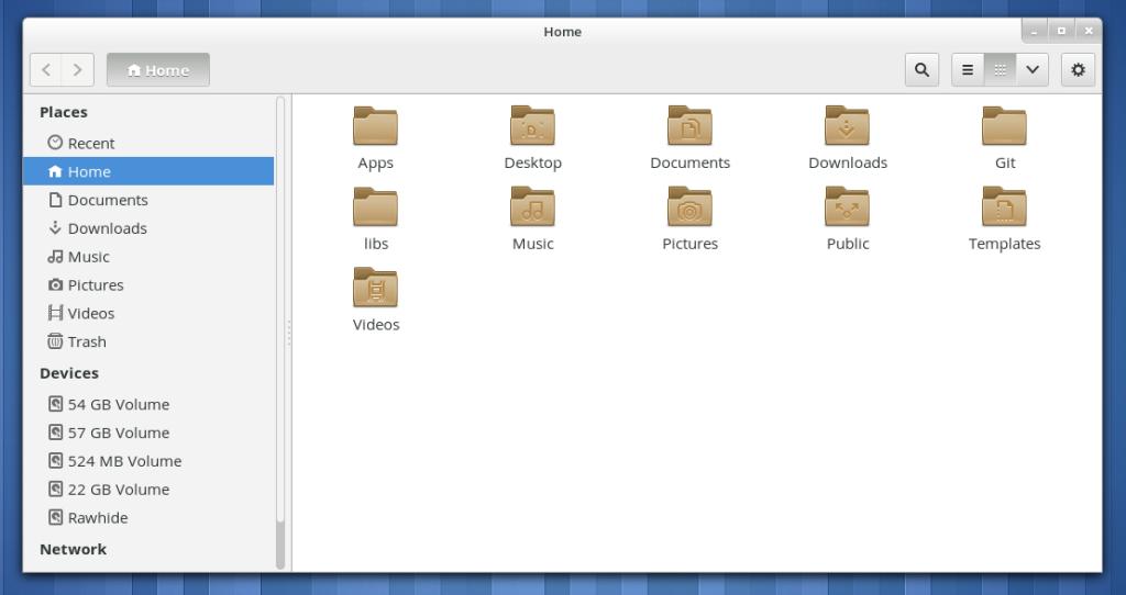 Ordner-Symbole in GNOME 3.8