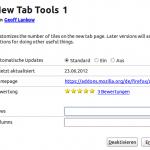 New Tab Tool
